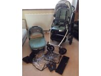 UPPAbaby Vista Pushchair & Carrycot