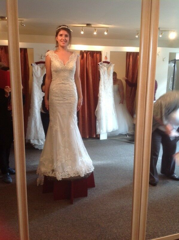 Stunning Vintage Inspired Maggie Sottero Elison Wedding Dress