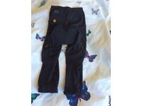 Cycling trousers 3/4 length women's