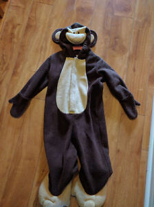 Adorable, Warm Old Navy Monkey Halloween Costume, Unisex, 2T
