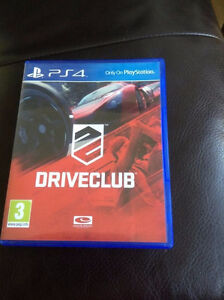 Driveclub for PS4.  Mint condition game $15.