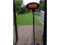 Firefly freestanding 2kw patio heater (two available)