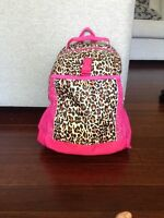 Cheetah pink backpack