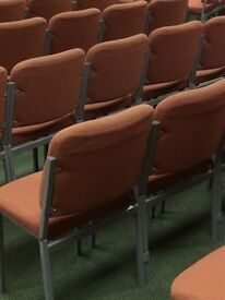 100+ Conference chairs £6 each or near offer weddings, office, auditorium