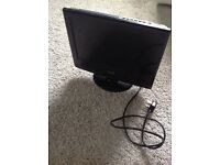 Technika 15.4 HD TV with DVD Freeview player.