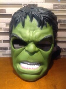 2011 Hasbro Incredible Hulk Mask hard plastic COSPlay Halloween