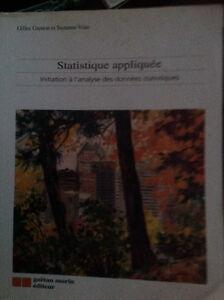 Statistique appliquée : initiation à l'analyse des données stati