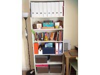 White IKEA Billy Bookcase