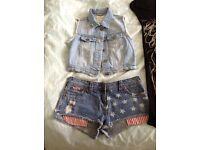 Ladies/teens CLOTHES BUNDLE SIZE 8 VGC 6 items