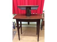 Solid Mahogany ROSTRUM/ LECTERN- Walnut Finish - Excellent Condition.