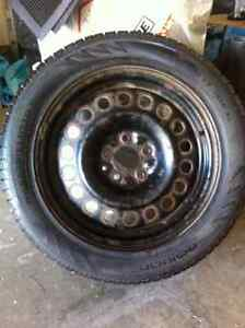 4 Nokian winter tires and rims-excellent condition Strathcona County Edmonton Area image 3