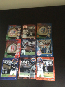 Sports magnets - MLB NFL teams and players, mint condition