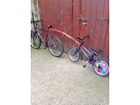 Bike tow bar 'Tail-gator'