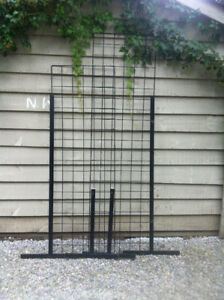display grid and accessories for sale for art & craft shows, etc