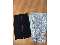 For sale skirt and top