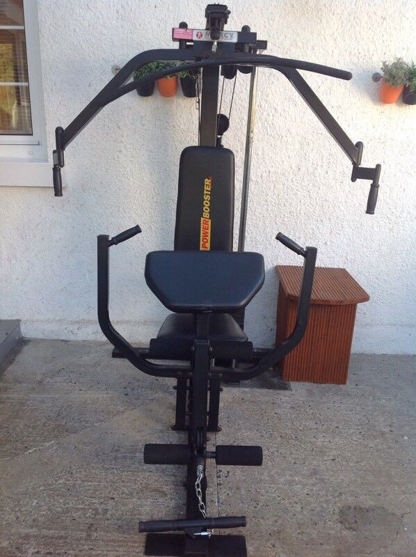 marcy power booster multi gym home gym 200lbs in ballyclare county antrim gumtree. Black Bedroom Furniture Sets. Home Design Ideas