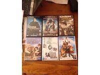 DVD mixtures £1 each