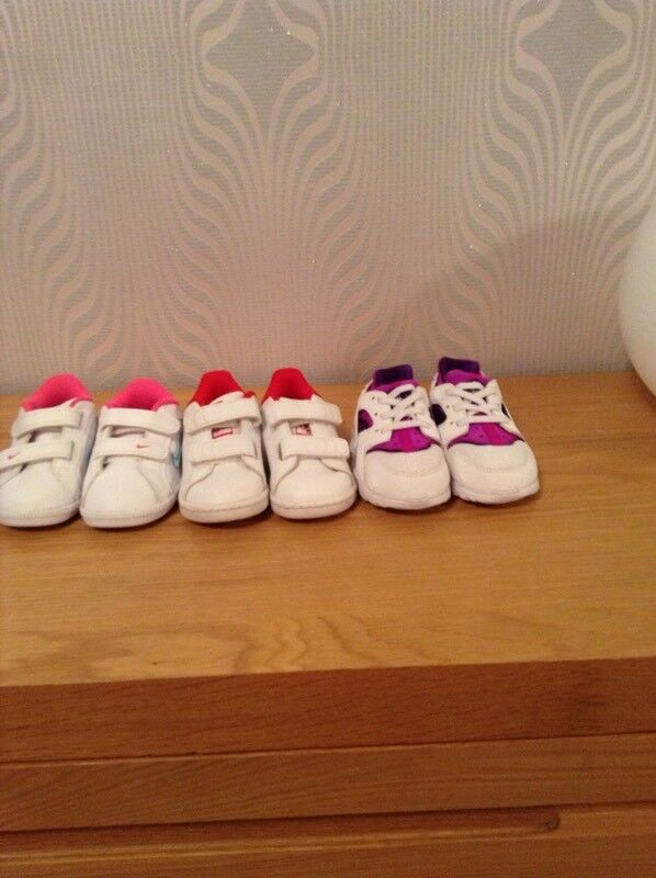 Toddlers trainers Nike & Adidas