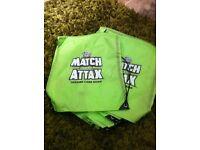 Match attax drawstring bags new football