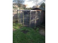 Large Aviary with 11x 6ft x 3ft panels £60