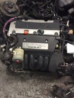 Acura RSX engine with 5 speed manual transmission