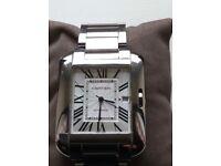 Cartier tank anglaise xl watch
