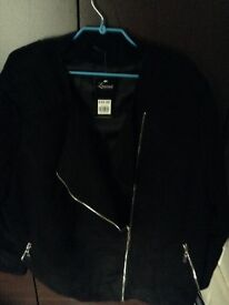 Ladies black jacket size 26-28