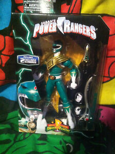 Power Rangers Legacy Mighty Morphin Green Ranger Action Figure