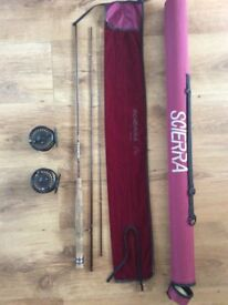 FLY FISHING ROD & REELS