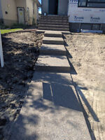 Concrete Work - Booking for Spring/Summer FREE ESTIMATES!