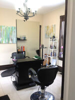 Room renter for hair stylists