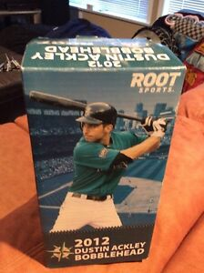 BUBBA - Seattle Mariners Dustin Ackley Bobble Head