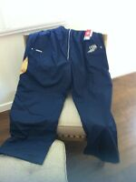 Blue bomber lined wind pant