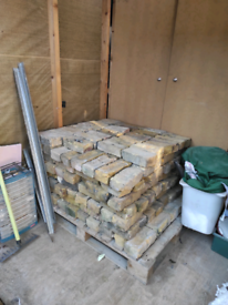 200 Imperial Yellow stock bricks for sale.