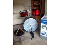 Real music large drum set (Childrens)