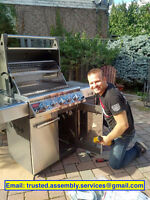 BBQ, furniture & fitness equipment assembly LOW FLAT FEE