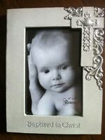 NEW in box! Baptism picture frame