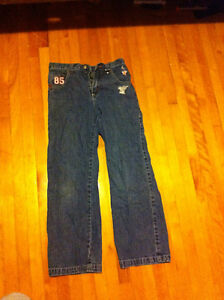 Boys size 10 jeans and pyjamas clothes package