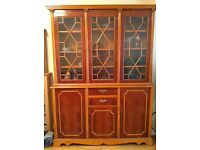 Beautiful Mahogany Display Cabinet £100 ONO