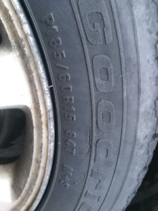 ISO Winter Tires 185/60R15