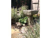 Granite Bird Table Extremely Heavy