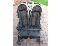 Graco double pram pushchair buggy