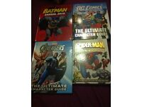 Marvel and DC books