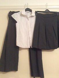 Girls school uniform bundle age 8-10