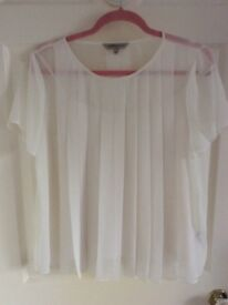Brand New M&S Limited Edition white blouse