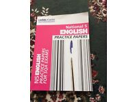 National 5 English Practice Papers