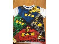 Kids 'Ninjago' t-shirt age 6-7yrs. Immaculate