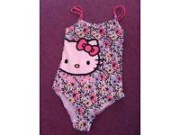 Swimming costume hello kitty 9-10 yrs