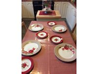 Next Scarlett Rose 4 piece dinner setting