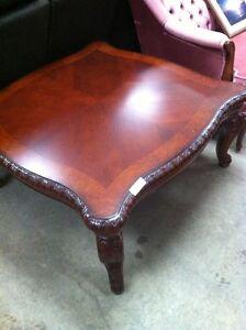 New Hardwood coffee table,3 ft x 3 ft